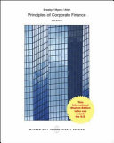 ISE Principles of Corporate Finance Book