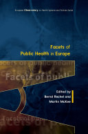 Facets of Public Health in Europe