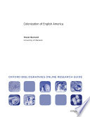 Colonization Of English America