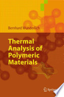 Thermal Analysis of Polymeric Materials Book