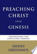 Preaching Christ from Genesis Book