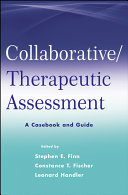 Collaborative   Therapeutic Assessment