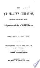 The Odd Fellow s Companion Book