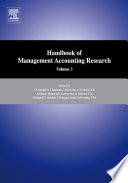 Handbooks of Management Accounting Research 3 Volume Set