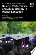Research Handbook On Quality Performance And Accountability In Higher Education
