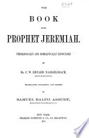 A Commentary On The Holy Scriptures Jeremiah Lamentations