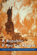 A Republic If You Can Keep It (Paperback)