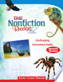 TIME For Kids Nonfiction Readers: Challenging Assessment Book (Spanish Version)