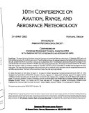 Conference on Aviation  Range  and Aerospace Meteorology Book