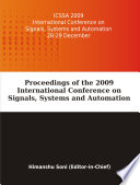 Proceedings of the 2009 International Conference on Signals  Systems and Automation  ICSSA 2009
