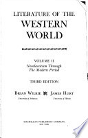Literature of the Western World: Neoclassicism through the modern period