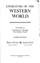 Literature of the Western World  Neoclassicism through the modern period