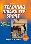 Teaching Disability Sport