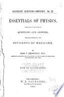 Essentials of Physics