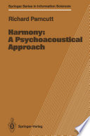 Harmony  A Psychoacoustical Approach