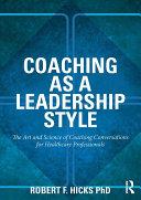 Coaching as a Leadership Style Pdf/ePub eBook