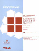 22nd International Conference on Distributed Computing Systems