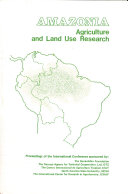Amazonia, Agriculture and Land Use Research ebook