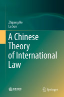 Pdf A Chinese Theory of International Law Telecharger