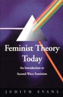 Pdf Feminist Theory Today