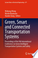 Green  Smart and Connected Transportation Systems