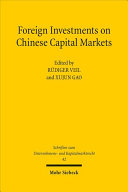 Foreign Investments on Chinese Capital Markets
