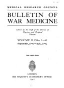 Bulletin of War Medicine