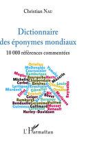 Pdf Dictionnaire des éponymes mondiaux Telecharger