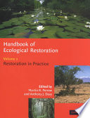 Handbook Of Ecological Restoration Book PDF