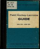 Field Hockey Lacrosse Guide