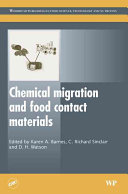 Chemical Migration and Food Contact Materials Book