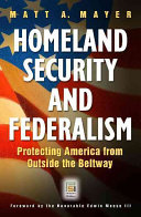Homeland Security and Federalism Book