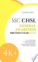 DP's SSC CHSL General Awareness [Previous Year Questions]