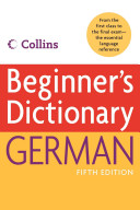 Cover of Collins Beginner's German Dictionary, 5e