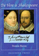 De Vere is Shakespeare
