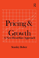 Pricing and Growth  Neo Ricardian Approach