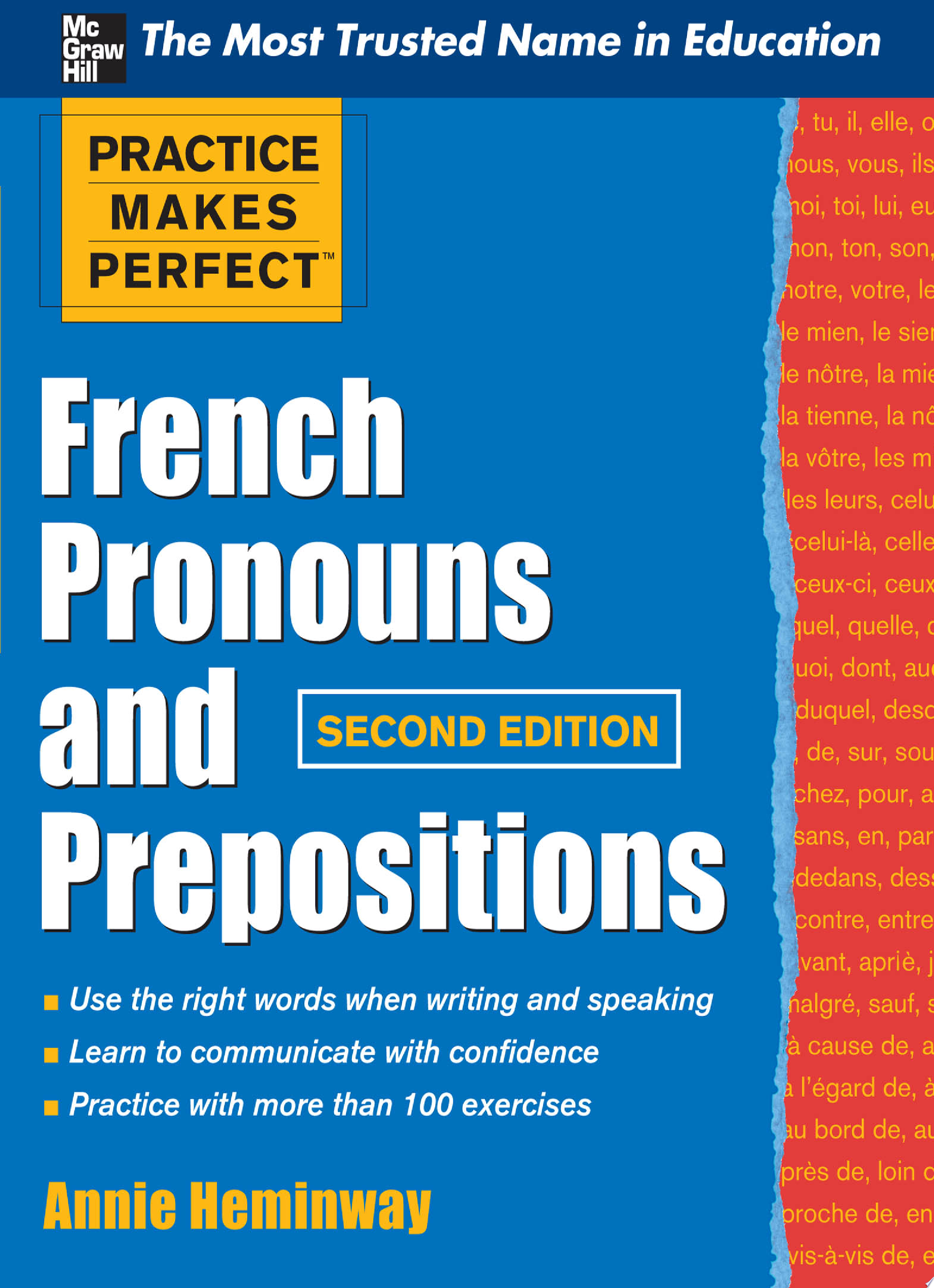 Practice Makes Perfect French Pronouns and Prepositions  Second Edition