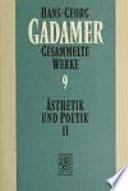 Ästhetik und Poetik II, Hermeneutik im Vollzug
