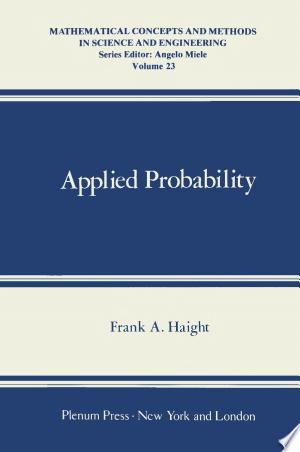 Download Applied Probability Free Books - Dlebooks.net
