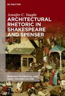Pdf Architectural Rhetoric in Shakespeare and Spenser Telecharger