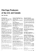 Film tape Production Source Book Book