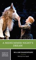 A Midsummer Night's Dream (Norton Critical Editions) Pdf/ePub eBook