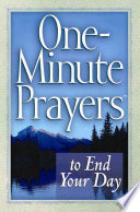 One Minute Prayers To End Your Day