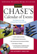 Chase S Calendar Of Events 2010 Book PDF