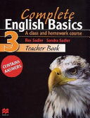 Complete English Basics 3 Teacher Book