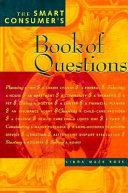 The Smart Consumer's Book of Questions
