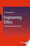 Book Cover: Engineering ethics : challenges and opportunities