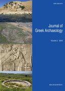 Pdf Journal of Greek Archaeology Volume 3 2018 Telecharger