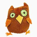 Peek a who  Owl Doll 8 Book