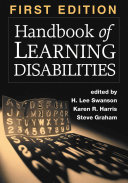 Handbook of Learning Disabilities  First Edition